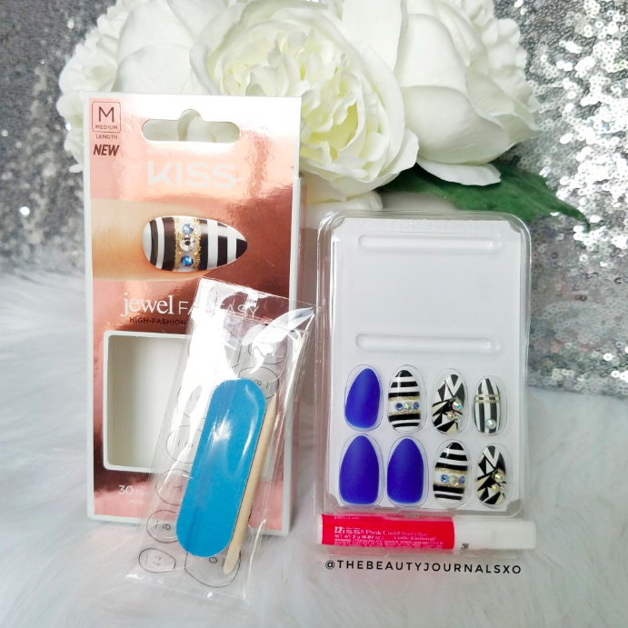 Thebeautyjournalsxo Review Jewel Fantasy Press-On nails From KISS_4