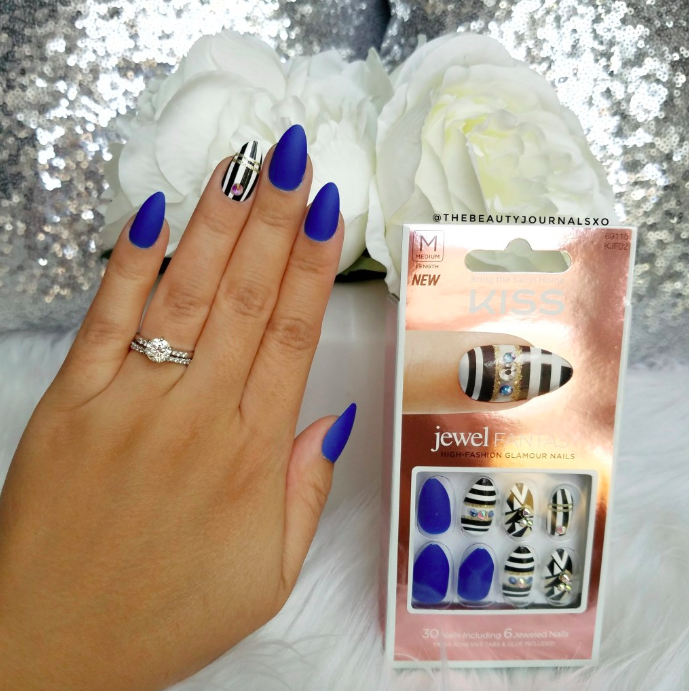 Thebeautyjournalsxo Review Jewel Fantasy Press-On nails From KISS_5