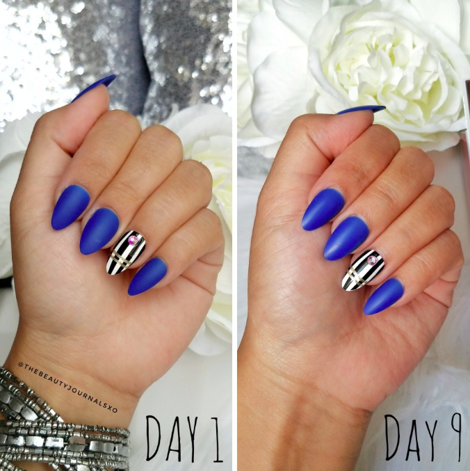 Thebeautyjournalsxo Review Jewel Fantasy Press-On nails From KISS_6