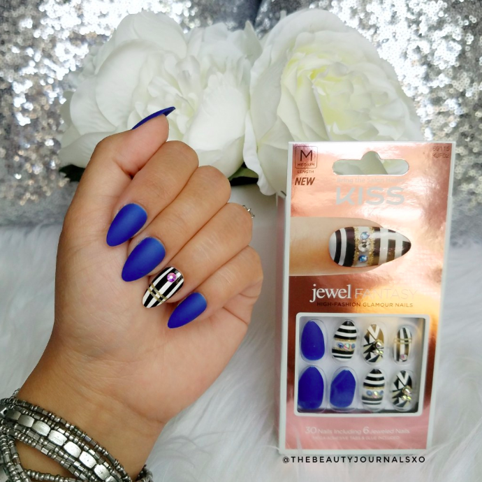 Thebeautyjournalsxo Review Jewel Fantasy Press-On nails From KISS_7