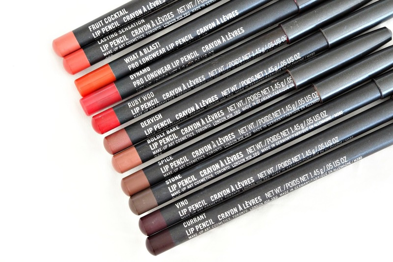Devoted To Pink Reviews MAC Lip Pencils_3
