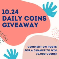 Look daily coins giveaway  3