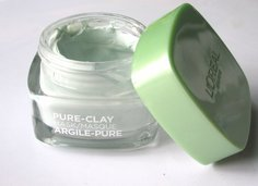 Look l oreal paris pure clay purify and mattify mask tub