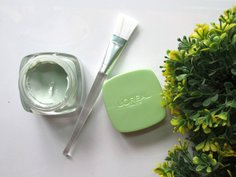 Look l oreal paris pure clay purify and mattify mask with brush