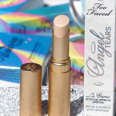 Look survivor peach review too faced la creme mystical lipstick from too faced 6