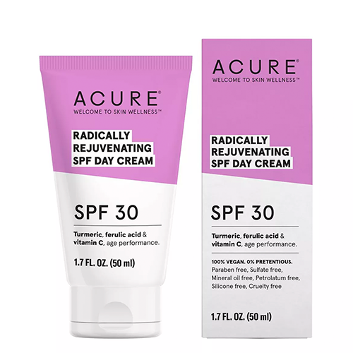 Radically rejuvenating day cream facial moisturizers from acure 1