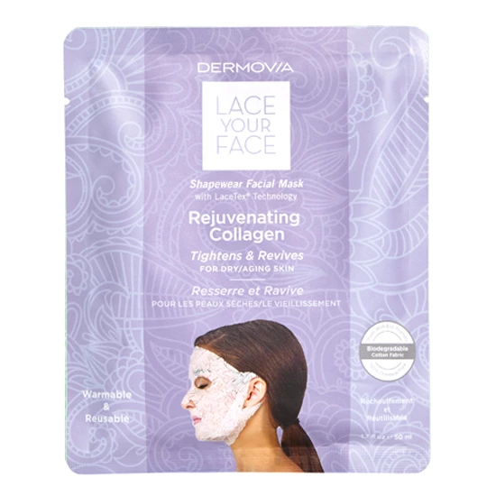 Lace your face facial mask from dermovia 0