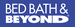 Brand small color bed bath and beyond logo